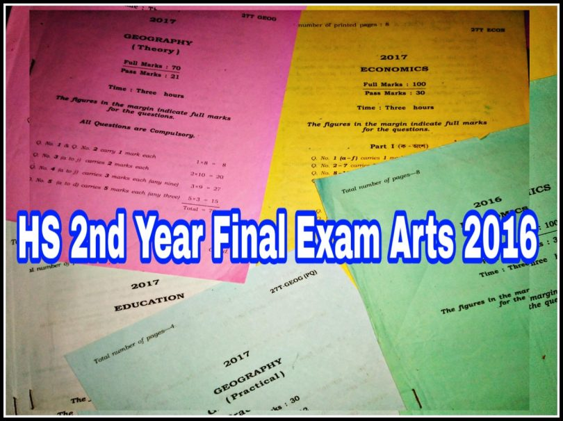 Ahsec Exam Routine 2015 Pdf
